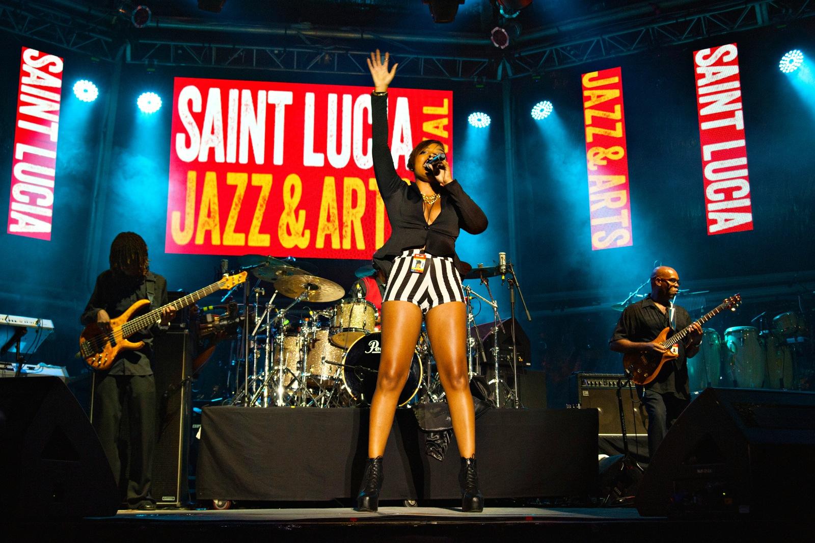 Saint Lucia Jazz Arts festival