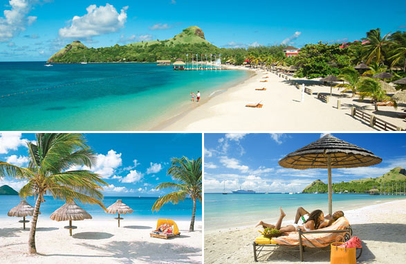 sandals Grande in St. Lucia