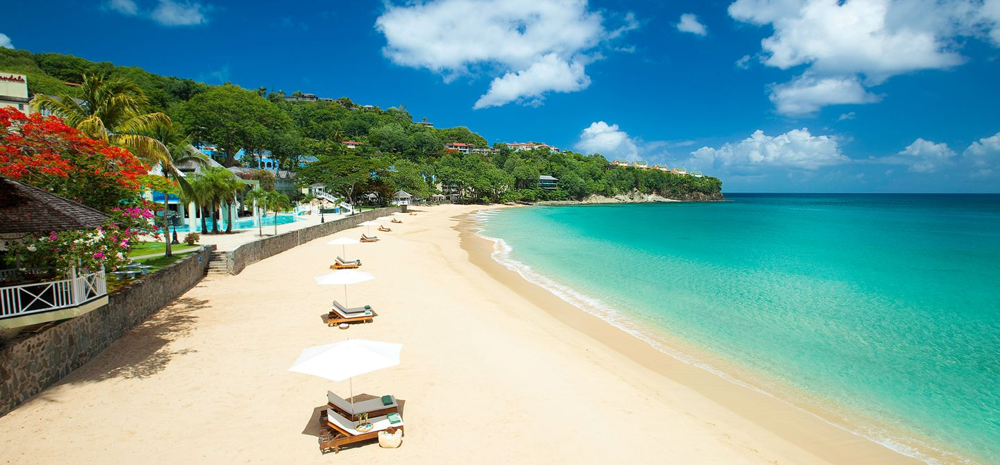 sandals la toc in St Lucia