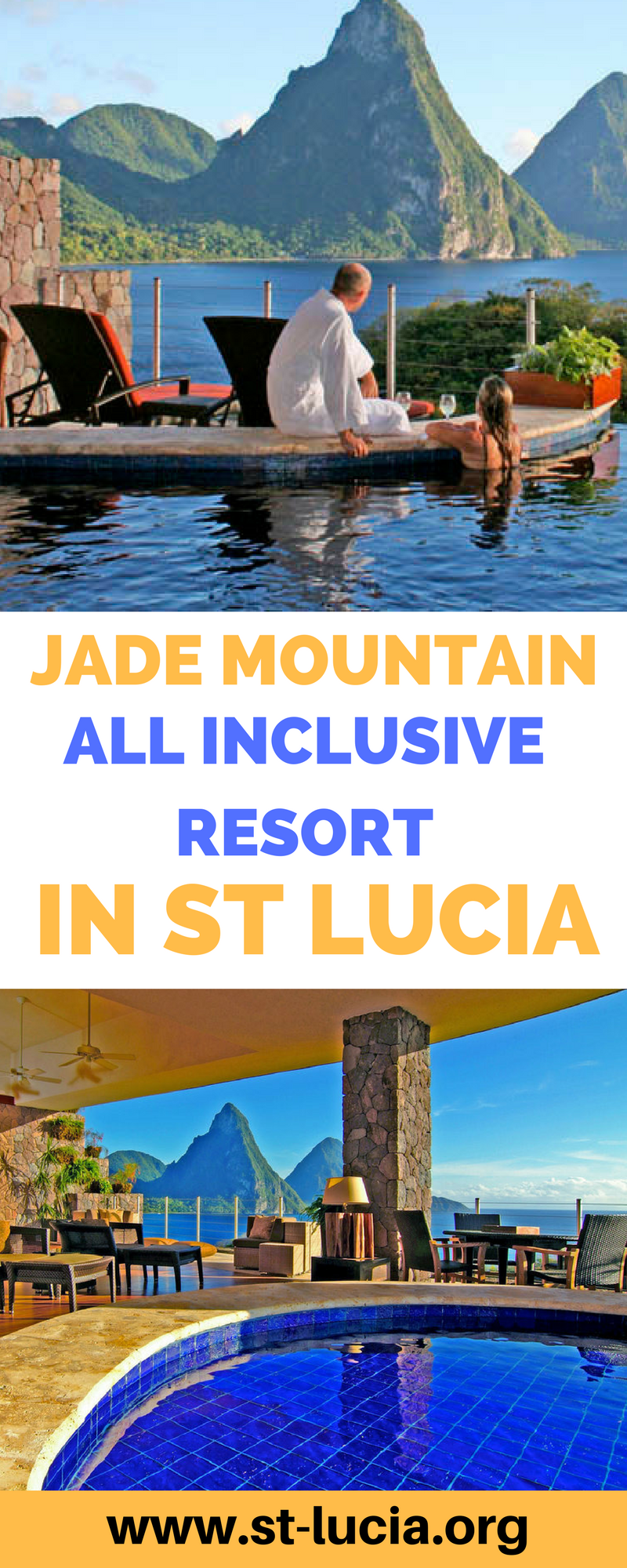 Jade Mountain all inclusive resort in St Lucia. Book your next vacation at the Jade Mountains.