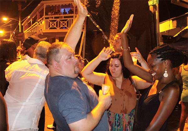 st lucia night life at gros islet