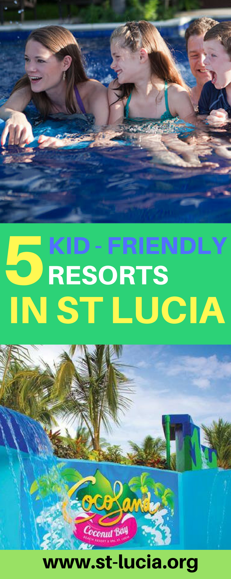 5 Kid friendly resorts in St Lucia