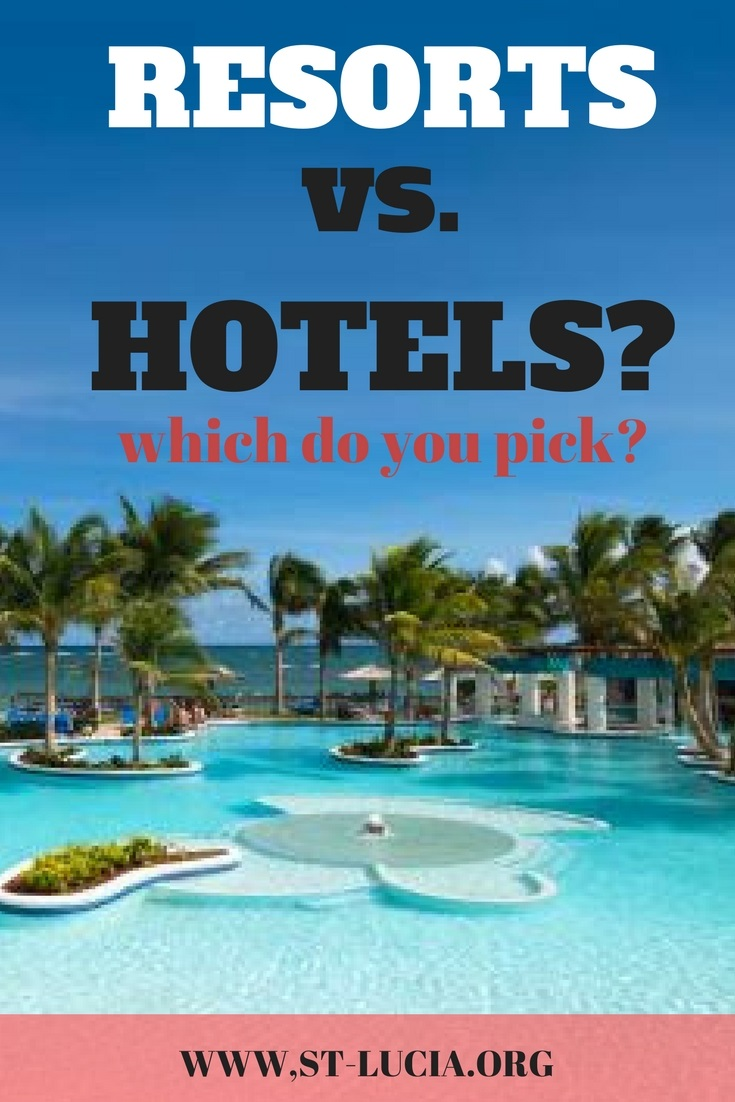 Booking a resort or a hotel in st lucia. The best places to stay in St Lucia. Where to stay in St Lucia.