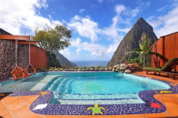 Ladera resort in St Lucia. ladera villa in st lucia. paradise ridge at ladera resort in st lucia. Book your vacation at the ladera resort in st lucia. All inclusive vacation in st lucia.