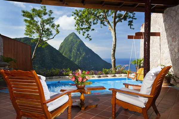 paradise ridge at ladera resort in st lucia. Book your vacation at the ladera resort in st lucia. All inclusive vacation in st lucia.