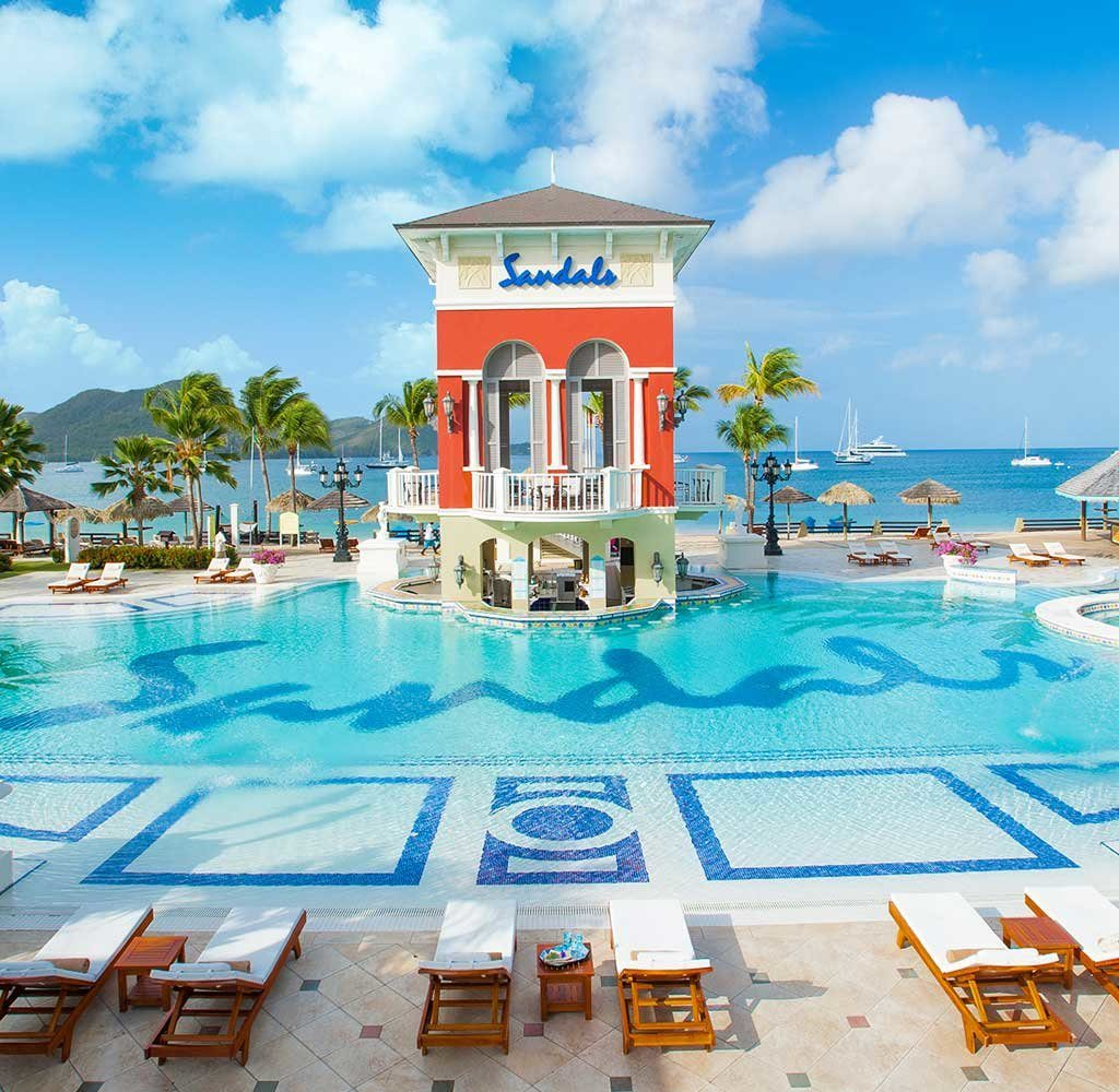 Sandals resorts in St lucia. Booking a resort or a hotel in st lucia. The best places to stay in St Lucia. Where to stay in St Lucia.