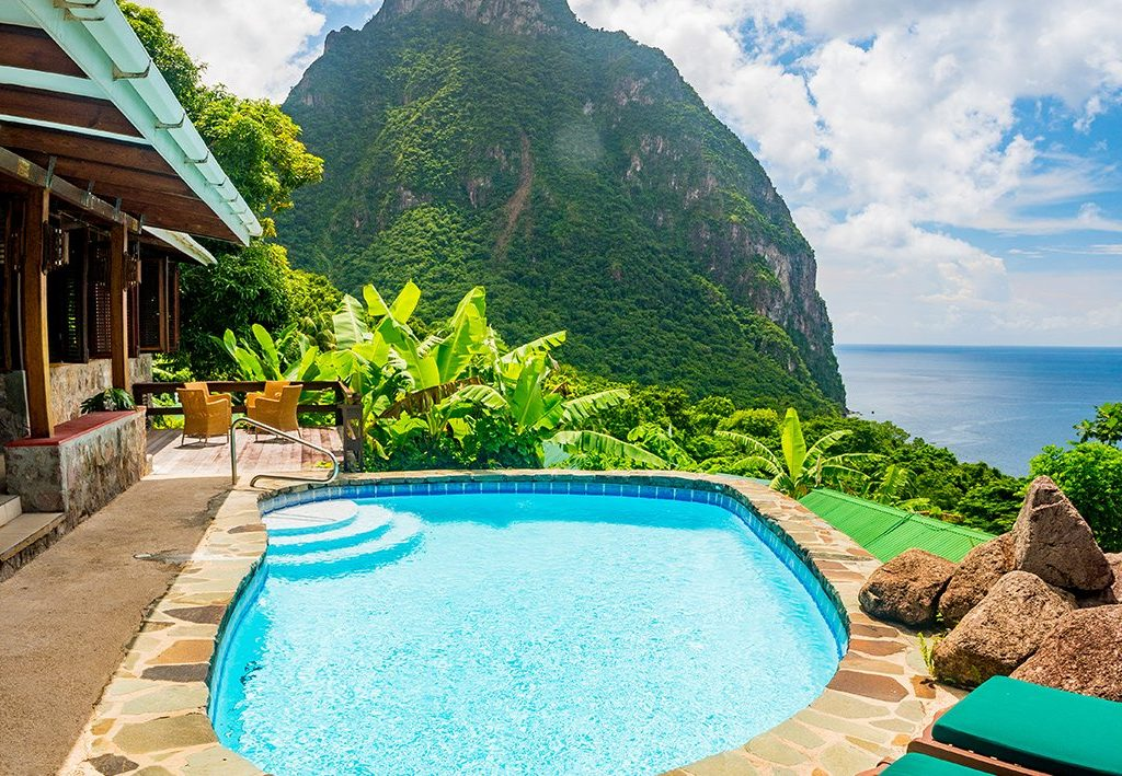 pools sid villas in St.Lucia