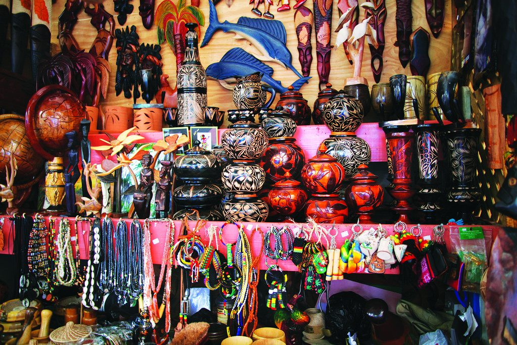 Shopping in St.Lucia