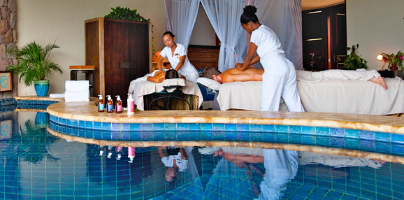 Day at the spa in St.Lucia