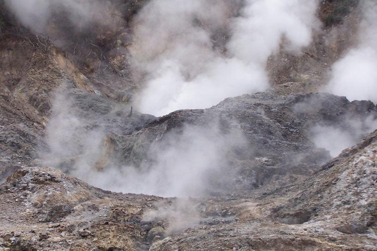 Drive through Volcano