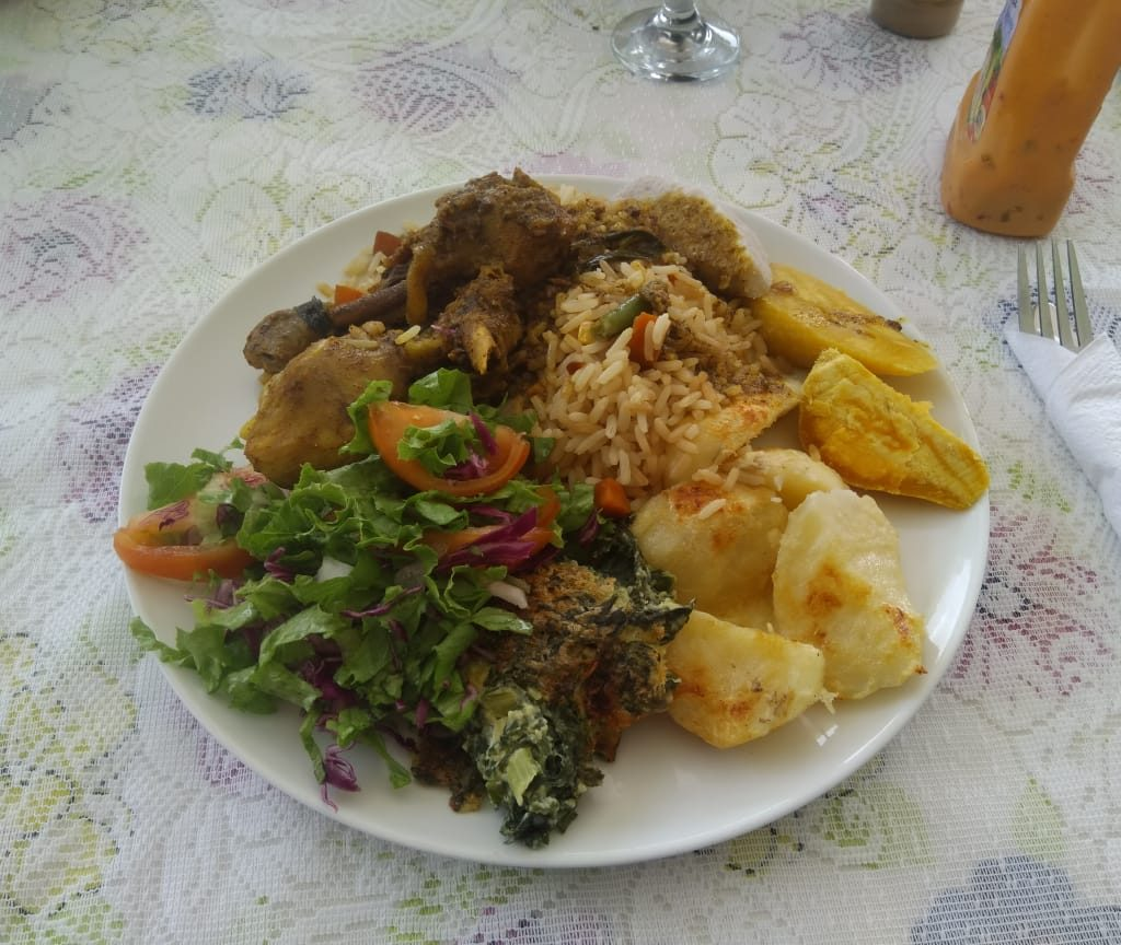Food in St.Lucia