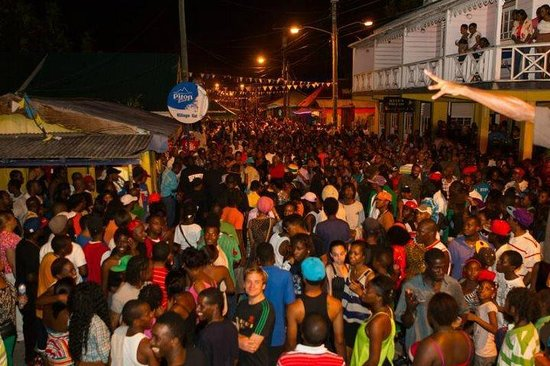 Gros Islet Friday Night