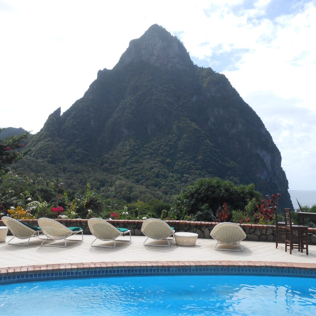 living in St.Lucia