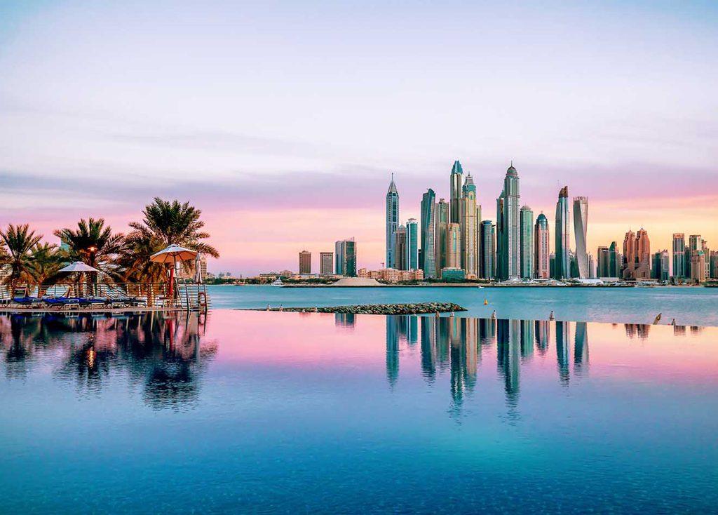 Christmas vacation in Dubai