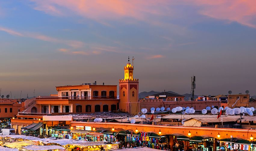Christmas vacation in Morocco