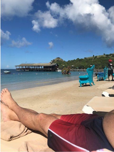 Anniversary in St.Lucia