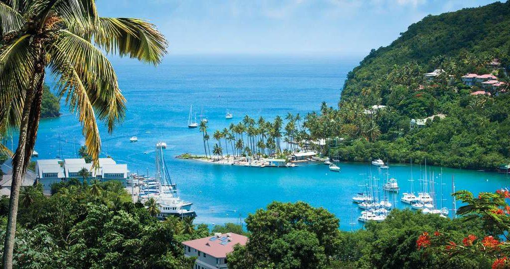Marigot bay St.Lucia