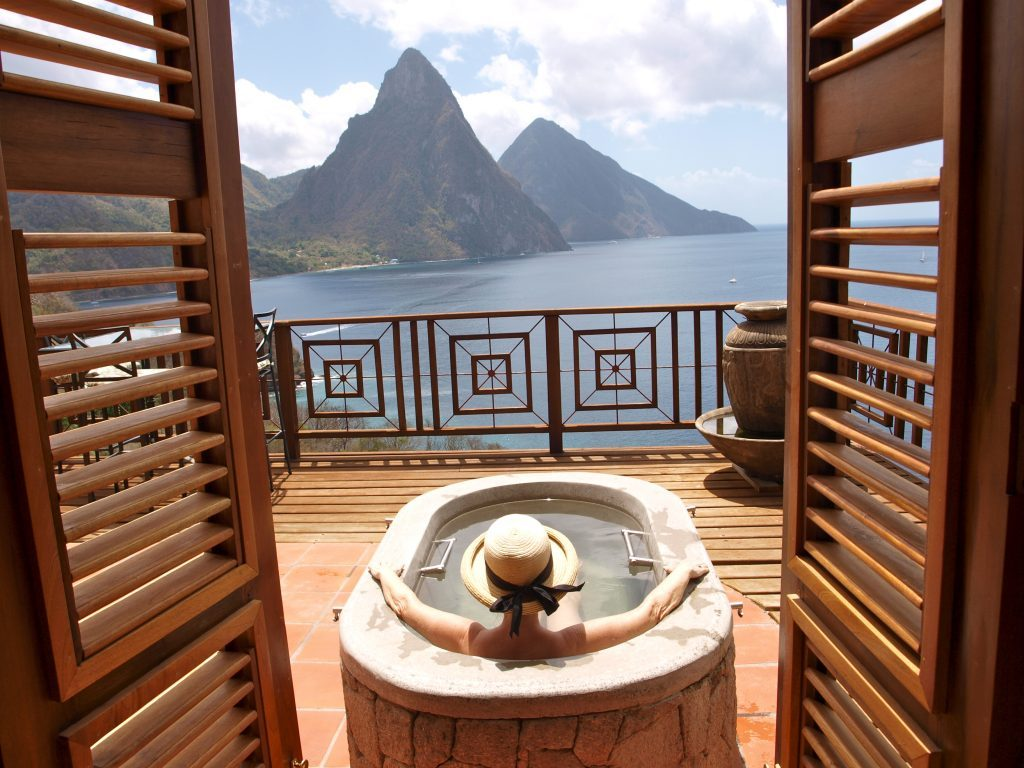 Resorts in soufriere