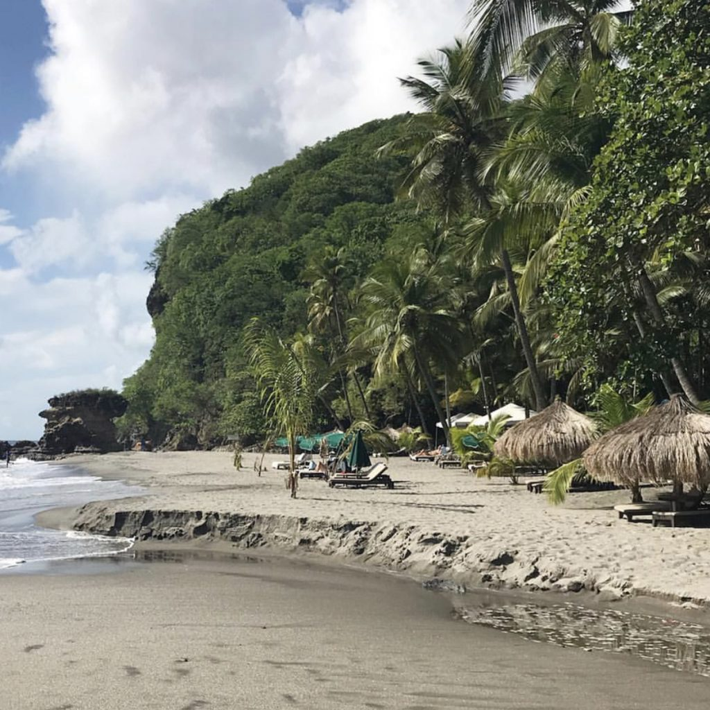 Anse Chasetenet Resort in St. Lucia near the pitons