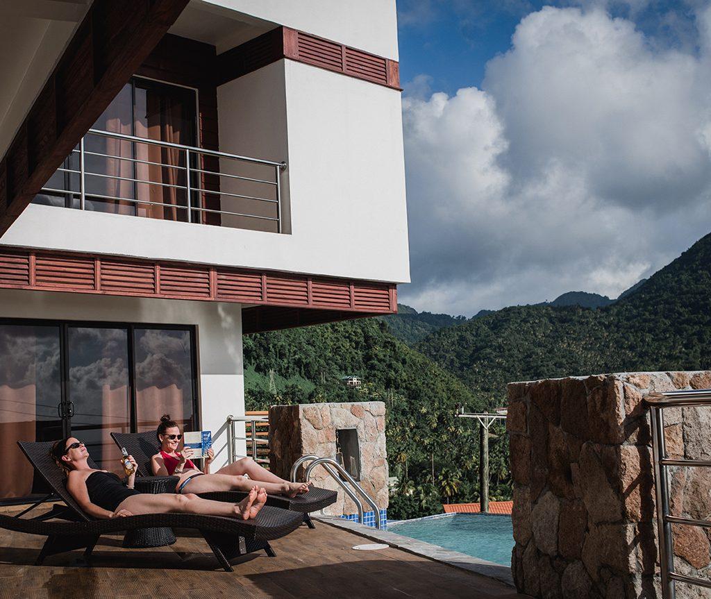 Sargas Villa in St. Lucia