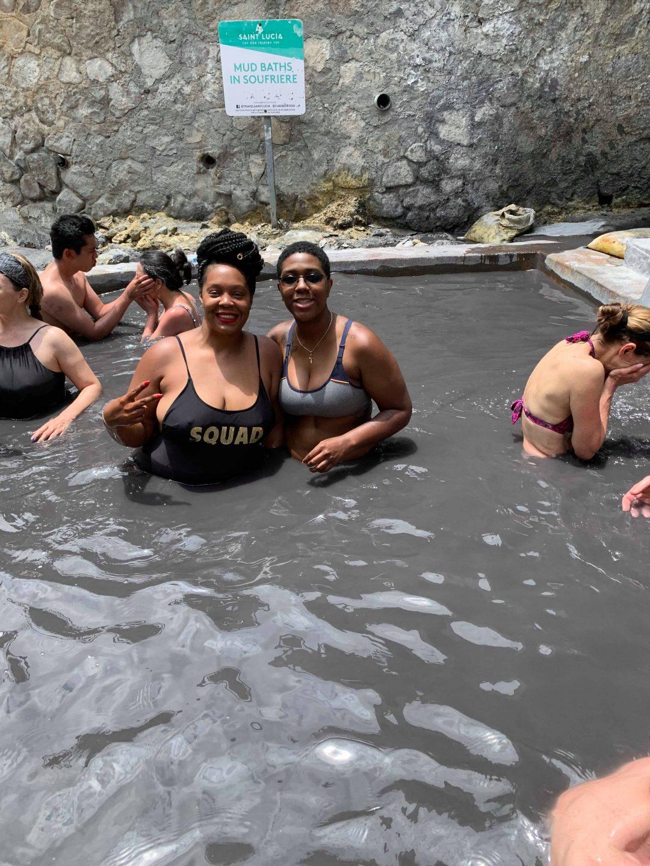 Sulphur Springs in St. Lucia