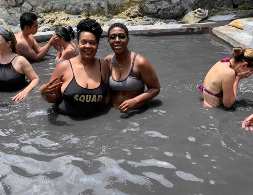 Sulphur Springs in St. Lucia